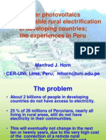 Electrificacion Rural Fotovoltaica ISES 2003