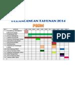 Perancangan Tahunan 2014 Pbsm