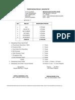 Perhitungan Pekan & Jam Efektif, Smt 2 Rdh 2011