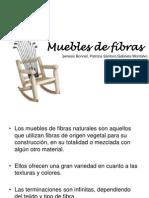 Muebles de Fibras