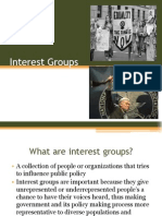 interest groups pf