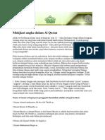Mukjizat Angka Dalam Al Quran