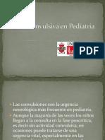 Crisis Convulsiva en Pediatría