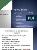 1.2 Operadores Lógicos