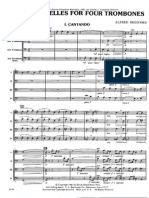 Two Bagatells for 4 Trombones