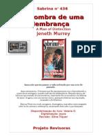 436 Jenneth Murrey - A Sombra de Uma Lembrança (Sabrina 436)