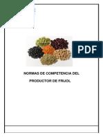 Normas de Competencia Del Productor de Frijol