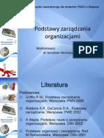 Wykład 1 Zarządzanie i Praca Menedżera1