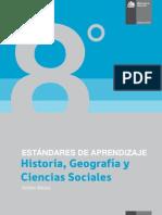 Estandares de Aprendizaje Historia, Geografia y Ciencias Sociales 8 Basico