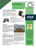 Newsletter 6 28 November 14