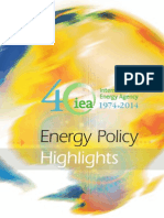 IEA - Energy Policy Highlights