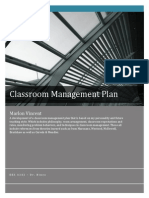 Classroom Management Plan Assignment.docx