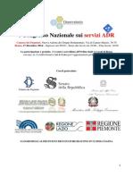 I Congresso Nazionale Sui Servizi ADR