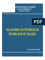 Soluciones geotecnica - taludes