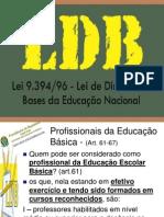 Ed. Básica - LDB - Profissionais Educação Básica