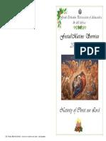 2014-25 Dec-nativity -Matins (b) Service