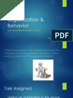 Organization & Behavior Presentation