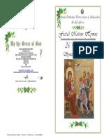 2014-26 Dec-nativity Synaxis - Matins Hymns