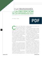 De la Obamamanía a la decepción de las intermedias 2014 (La Nación 2394)