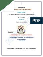 A Seminar on rotating building