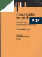 Etienne Wenger Comunidades de Practica