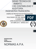 Normas APA 6ta Edición.