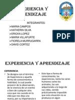 Experiencia y Aprendizaje