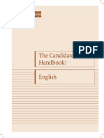 Manual Do Candidato - Inglês - Sara Walker