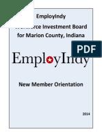 board orientation booklet