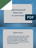 informational interview presentation