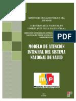 Modelo de Atencion Integral Del Sistema Nacional en Salud 2012