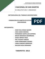 metodologia universitaria
