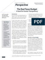 The RealTexas Budget