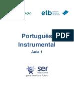 Português Instrumental  Aula 1