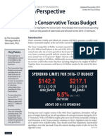 The Conservative Texas Budget