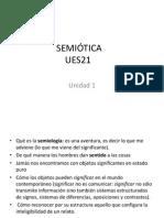 Semiotica Unidad 1 SI