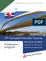 EVC 2015 Programme