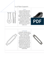 Standard Parts of Pipe Supports