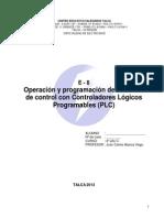 Apunte General Operacion y Programacion de Sistemas de Control Con Plc