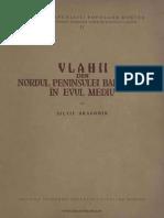 Vlahii Din Nordul Peninsulei Balcanice În Evul Mediu