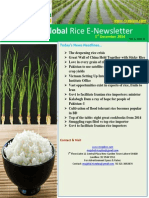 1st December,2014 Daily Global Rice E-Newsletter by Riceplus Magazine