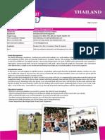 Event Management in 2 Thailand 16-10-2013