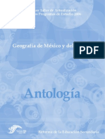 Geografia México Antologia Taller