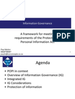 COR Concepts Information Governance Protection of Personal Information Act Popi