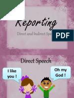 Reporting Speech