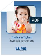 USPIRG Trouble in Toyland 2014