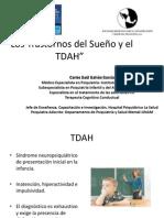 TDAH Deficit Atencion e Hiperactividad insomnio Psiquiatra Dr Carlos Saul Galvan Garcia Trastornos Sueño y Trastono por Deficit de Atencion e Hiperactividad Noviembre 2014