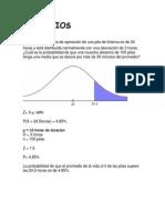Ejercicios probabilidad