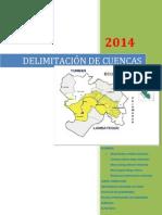 Informe - Delimitación de Cuencas N° 01.docx