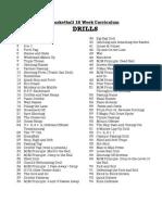 Basketball 12 Week Curriculum Drills